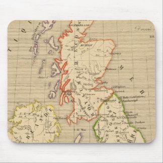 En 900 de Angleterre, de Ecosse y de Irlande Tapetes De Ratón