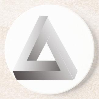 En abril de 2013 - Triangle.jpg imposible Posavasos Diseño