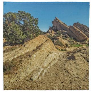 En acercamiento a las rocas de Vasquez Servilleta De Papel