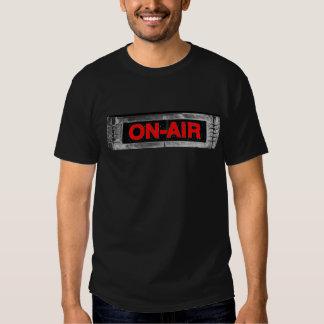 En-Aire fresco DJ/camisa de la difusión Remeras
