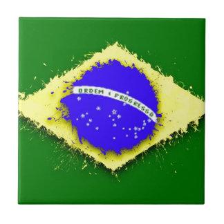 en al cielo, el Brasil Azulejo Cuadrado Pequeño