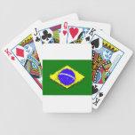 en al cielo, el Brasil Baraja De Cartas