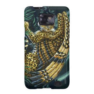 En alarma Jaguar con alas Samsung Galaxy S2 Carcasa