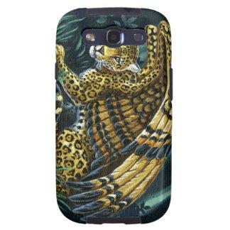 En alarma Jaguar con alas Samsung Galaxy SIII Funda