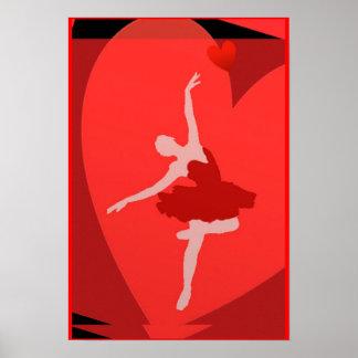 En amor con ballet impresiones