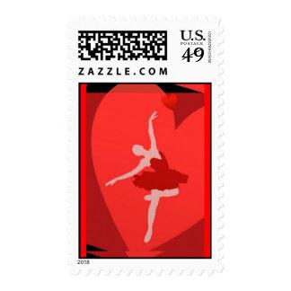 En amor con ballet sello