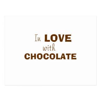 En amor con el CHOCOLATE Postales