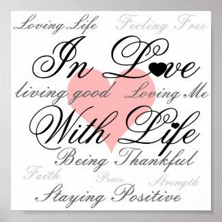 En amor con el poster de la vida