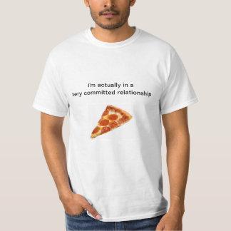 ¡En amor con la pizza! Playera