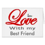 En amor con mi mejor amigo felicitacion