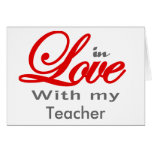 En amor con mi profesor felicitacion