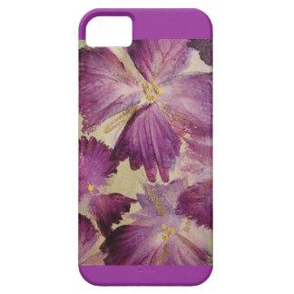 En amor con púrpura iPhone 5 funda