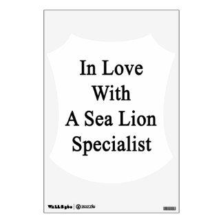 En amor con un especialista del león marino vinilo