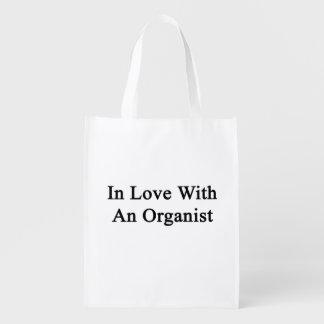 En amor con un organista bolsa reutilizable