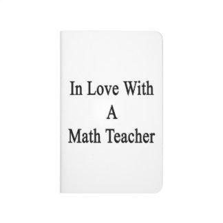En amor con un profesor de matemáticas cuaderno