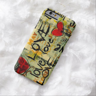 En amor funda de iPhone 6 barely there
