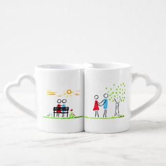 en amor set de tazas de café