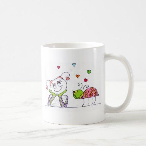 En amor taza de café