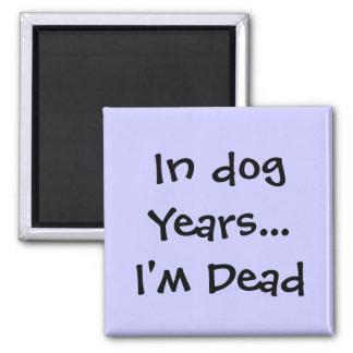 En años del perro… soy imán muerto