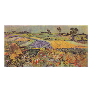 En Auvers de Vincent van Gogh Póster