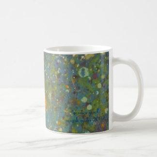 en azul coffee mug