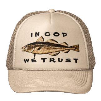 En bacalao confiamos en gorros bordados