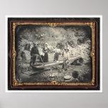En barranco castaño, 1852 de José Blaney Starkweat Posters