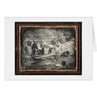 En barranco castaño, 1852 de José Blaney Starkweat Tarjeta