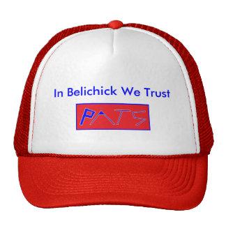 En Belichick confiamos en Gorras De Camionero