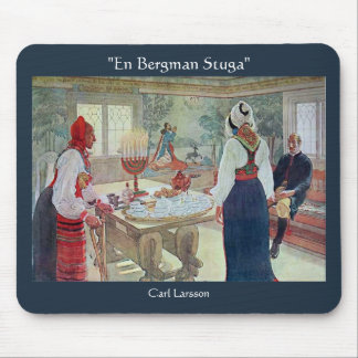 En Bergman Stuga de Carl Larsson Tapete De Ratón