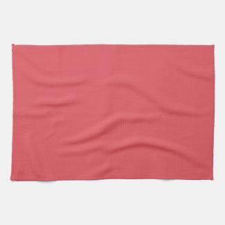 En blanco de color salmón de la tendencia 2014 del toallas de mano