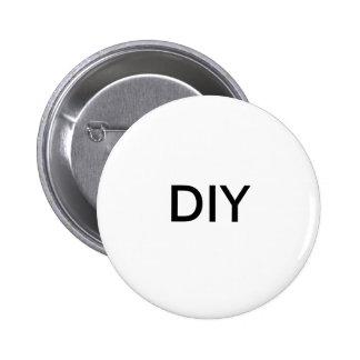 En Blanco-DIY-Hace usted mismo Pin