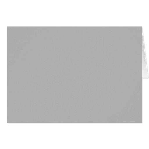 En blanco gris de la tendencia 2014 del color de tarjeta pequeña