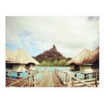 En Bora Bora Tarjeta Postal