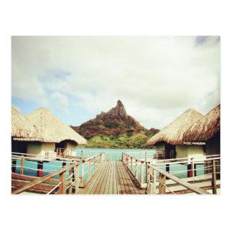 En Bora Bora Tarjetas Postales