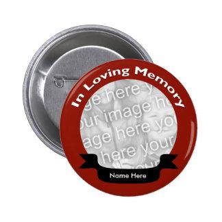 En botón de memoria cariñoso pins