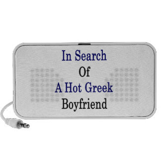 En busca de un novio griego caliente portátil altavoz