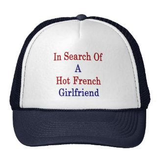 En busca de una novia francesa caliente gorro de camionero
