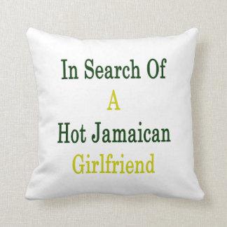 En busca de una novia jamaicana caliente almohadas