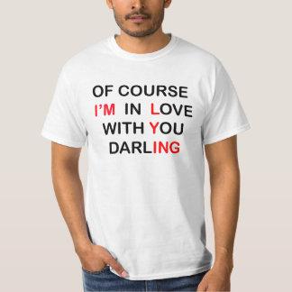 En camisa de mentira del amor