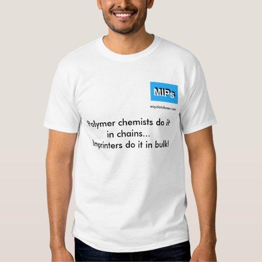 en camiseta a granel remera