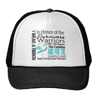 En cáncer de cuello del útero del tributo del coll gorras de camionero