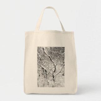 en casa en nieve bolsa