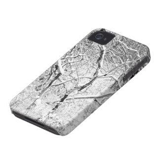 en casa en nieve Case-Mate iPhone 4 protectores