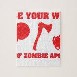 En caso de apocalipsis del zombi puzzle