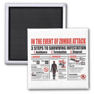 En caso de ataque del zombi IMÁN