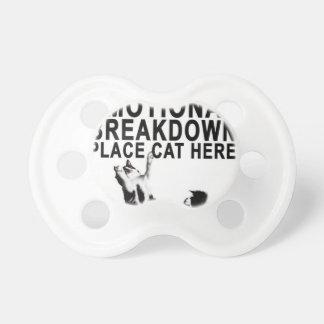 En caso de CAT del lugar de la AVERÍA EMOCIONAL Chupetes Para Bebés
