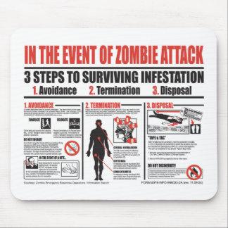 En caso de COJÍN de RATÓN del ataque del zombi Alfombrilla De Ratón