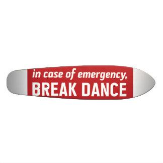 en caso de emerengy, danza de rotura monopatín