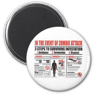 En caso de IMÁN del ataque del zombi